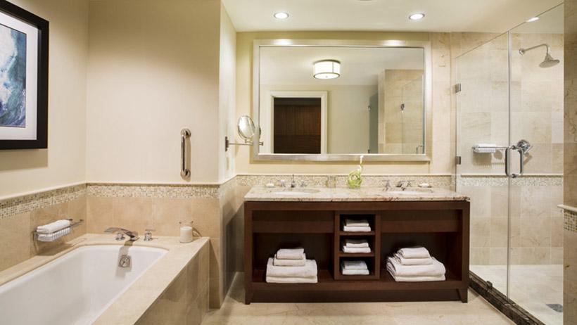 Coleman partners architects for Caribbean bathroom design ideas